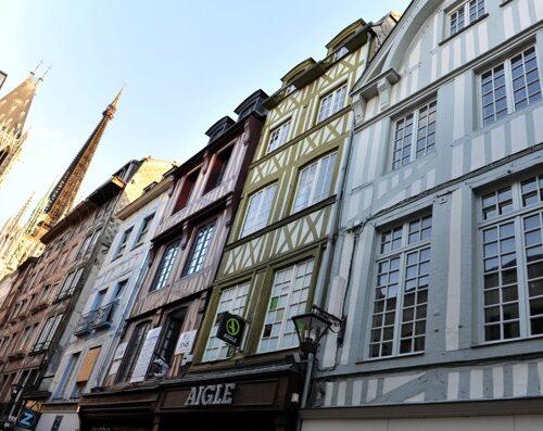 Rouen ville historique Normandie - La Vie de Cocagne