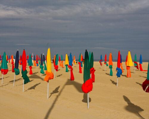 Les plages de Deauville Normandie - La Vie de Cocagne