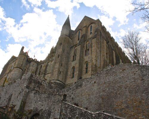 Visite de l'abbaye du Mont Saint Michel