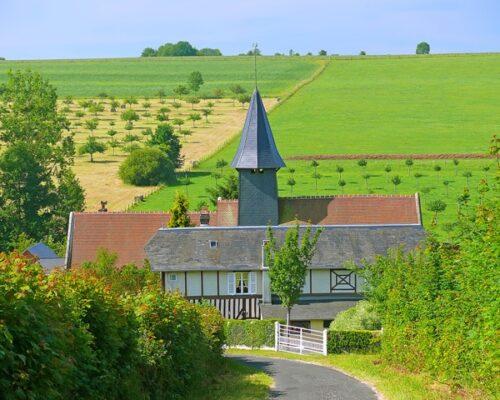 Montreuil en Auge pays d'Auge Normandie - La Vie de Cocagne