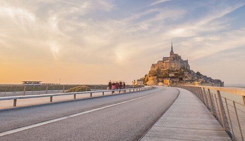 Le Mont Saint Michel Normandie - La Vie de Cocagne