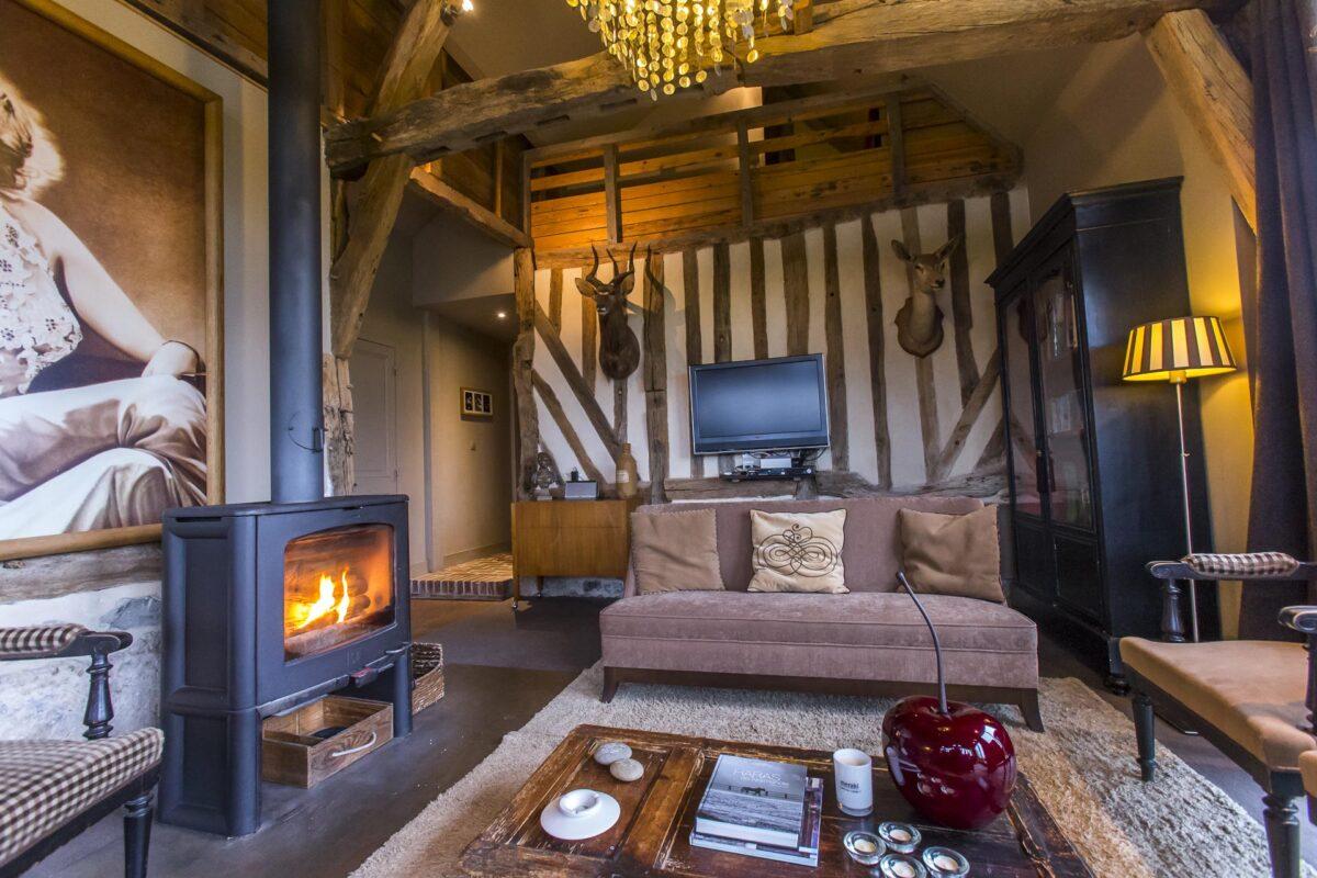 G te de charme deauville location maison vacances - Salon de the deauville ...