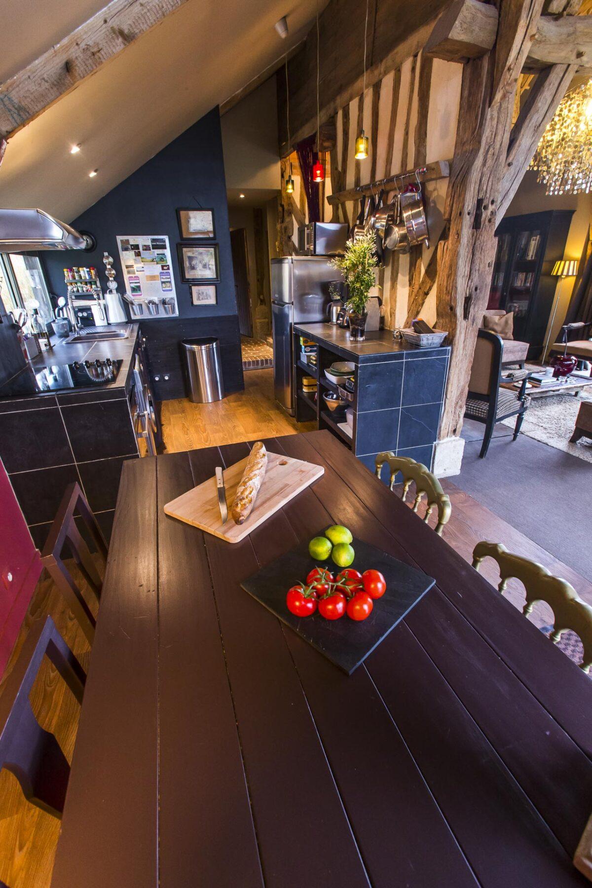 g te de charme deauville location maison vacances. Black Bedroom Furniture Sets. Home Design Ideas
