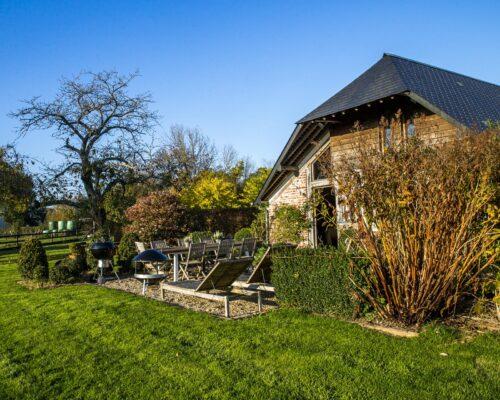 Location gîte familial avec jardin Deauville - La Vie de Cocagne