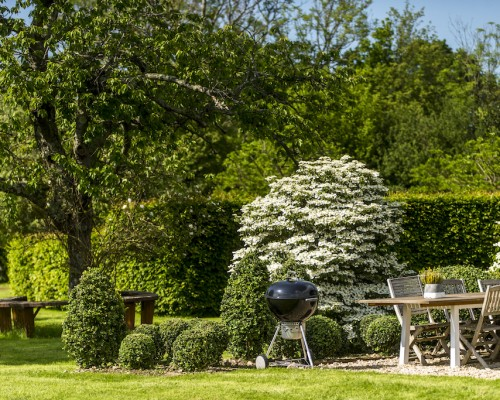 Jardin Gite de charme Normandie
