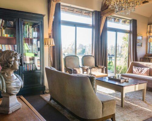 La Vie de Cocagne Normandy, living room