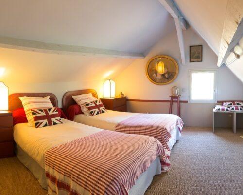 La Vie de Cocagne Normandy, upstairs room